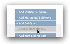 Add submenu menu